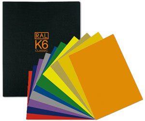 Thẻ màu Ral K6