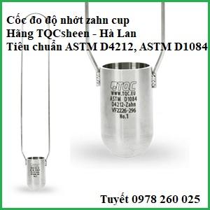 Cốc đo độ nhớt Zahn Cup TQCsheen